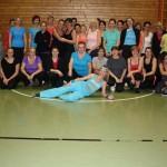 Zumba fitness Gruppe